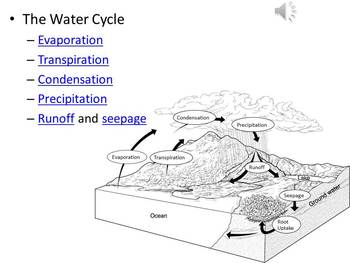 Water Cycle & Benefits of Precipitation