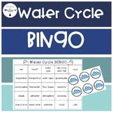 Water Cycle Bingo