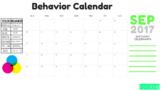 September Behavior Chart