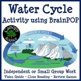 Water Cycle Activity using BrainPOP