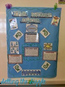 Water Cycle Chart FREEBIE
