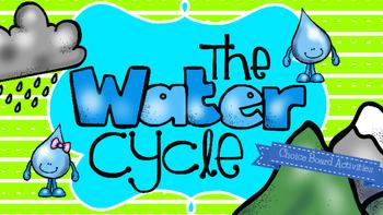 Water Cycle Choice Board