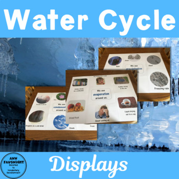 Water Cycle Classroom Display and Student response