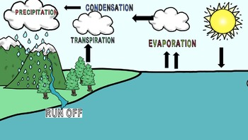 Water Cycle Clip Art and Diagrams