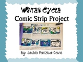 Water Cycle Comic Strip Project with Rubric