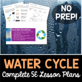 Water Cycle Complete 5E Lesson Plan - Distance Learning