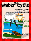 Water Cycle:Complete Lesson Set Bundle (TEKS & NGSS) 4th Grade