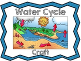 Water Cycle Craft Cut and Paste Activity