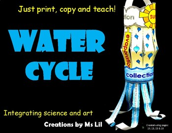 Water Cycle Craftivity  ::  Water Cycle Lantern