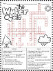 Water Cycle Crossword Puzzle Activity