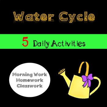 Water Cycle Daily Activities