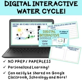 Water Cycle Digital Interactive Practice