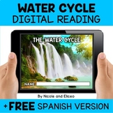 Water Cycle Reading Comprehension for Google Classroom