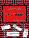Water Cycle Exit Ticket Assessment