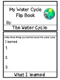 Water Cycle Flip Book