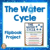 Water Cycle, FlipBook Project, Science, Evaporation, Condensation, Precipitation