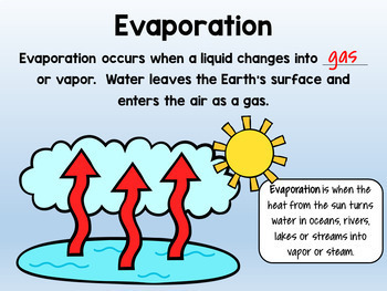 Water Cycle Layered Flipbook & Posters