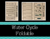 Water Cycle Foldable / Interactive Notebook