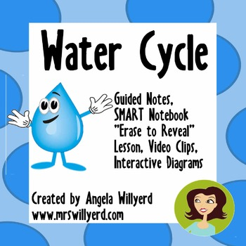Water Cycle {Guided Notes - SMART Board lesson}