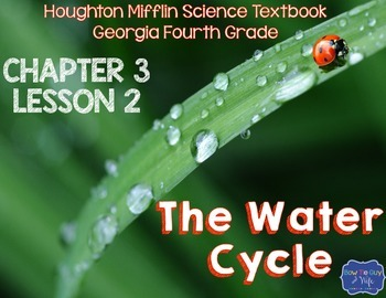 Water Cycle (Houghton Mifflin 4th Grade Science Chapter 3