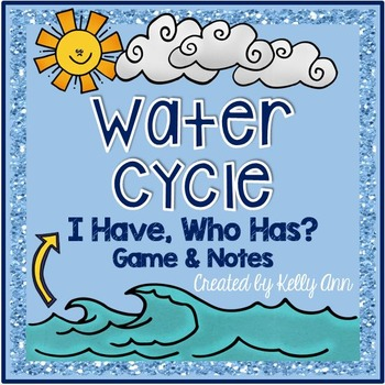 Water Cycle Review Game