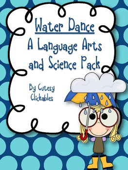 Water Cycle Integration {Water Dance Unit- Poetry, Vivid Language, Science}