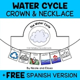 Water Cycle Activity Crown and Necklace