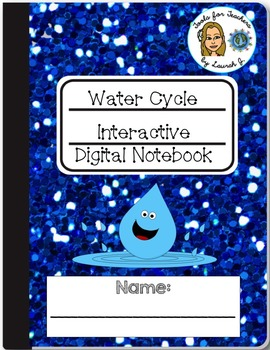 Water Cycle Interactive Digital Notebook for Google Drive®