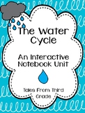 Water Cycle Interactive Notebook and Task Cards