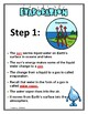 Water Cycle Interactive Notes and Study Guide  4th Grade Science