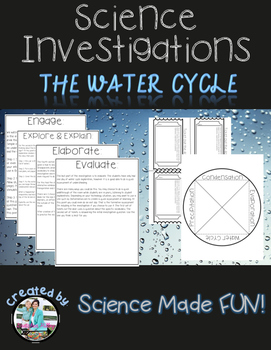 Water Cycle Investigation 5E