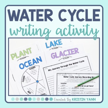 Water Cycle Journey: Interactive Writing Activity
