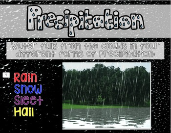 Water Cycle Presentation in Google Slides™
