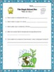 """Water Cycle Magic School Bus """"Wet All Over"""" Video Response Form"""