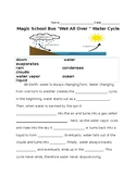 Water Cycle Magic School Bus Worksheet