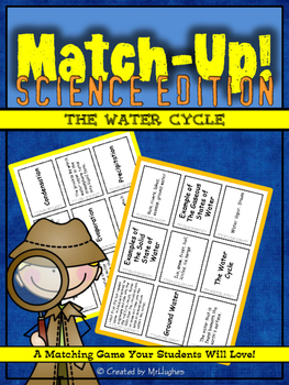 Water Cycle Match-Up!
