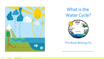 Water Cycle Minibook PDF