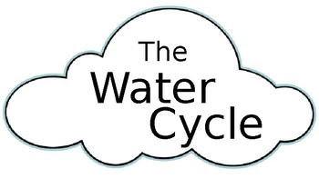 Water Cycle Mobile Craft