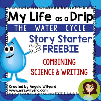 Water Cycle - My Life as a Drip Science and Writing {FREEBIE}