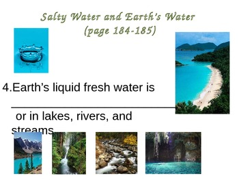 Water Cycle Notes