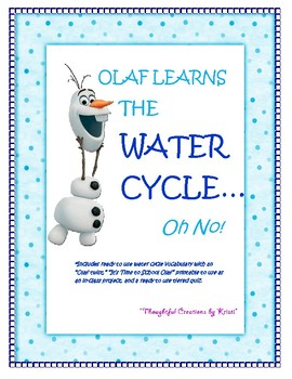 """Water Cycle - """"Olaf Learns the Water Cycle"""""""