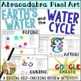 Water Cycle Pixel Art Digital Review Distance Learning