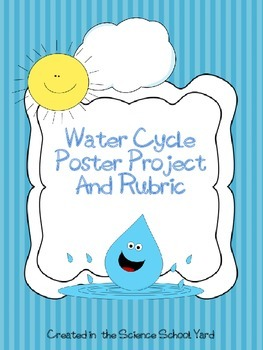 Water Cycle Poster Project and Rubric