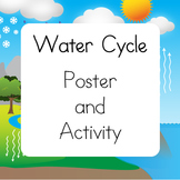 Water Cycle Poster and Craftivity {A Weather Craft}