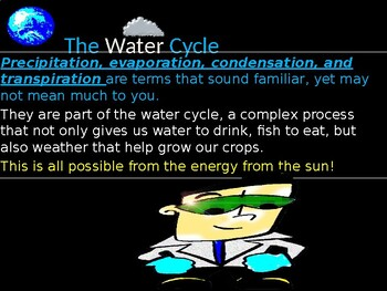 Water Cycle Presentation Science