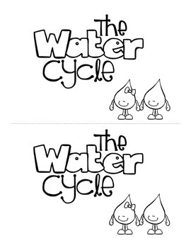 image about Water Cycle Printable known as H2o Cycle Printable Mini Ebook