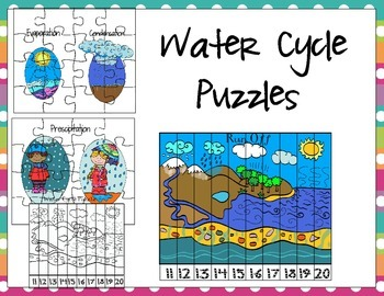 Water Cycle Puzzles