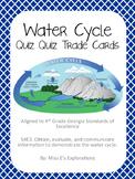 Water Cycle Quiz Quiz Trade Cards