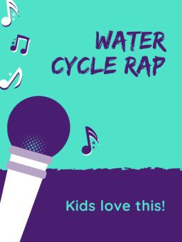 Water Cycle Rap **EDITABLE w/ RUBRIC**