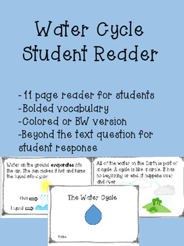 Water Cycle Reader